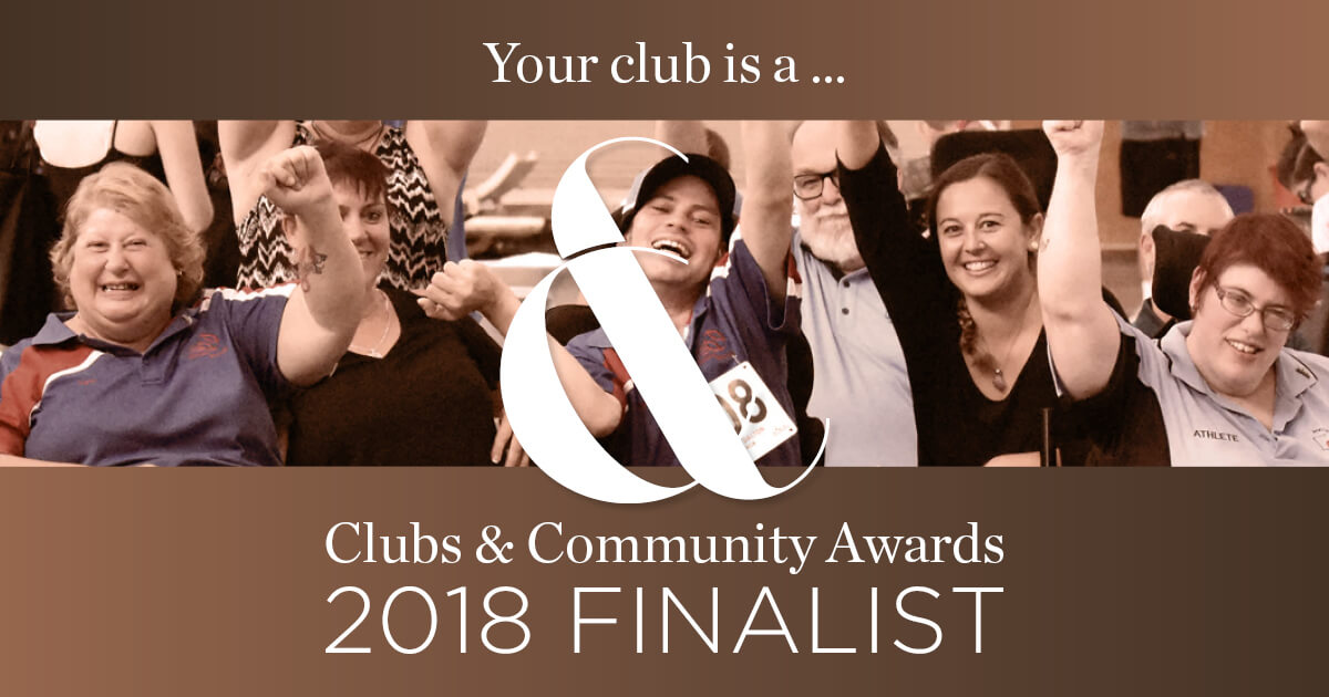 Community News: Clubs & Community Awards Finalist