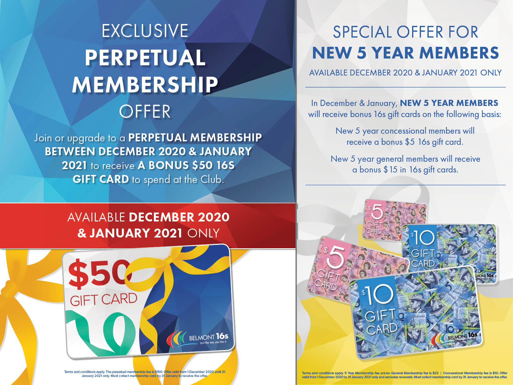 January Early Membership Special Offers